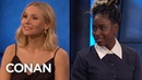 Veronica Mars Is Kristen Bell Kirby Howell-Baptiste's Third Project Together - CONAN on TBS