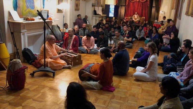 H.H. Niranjana Swami, Boston, Nrsimha Prayers, 1/1/2019