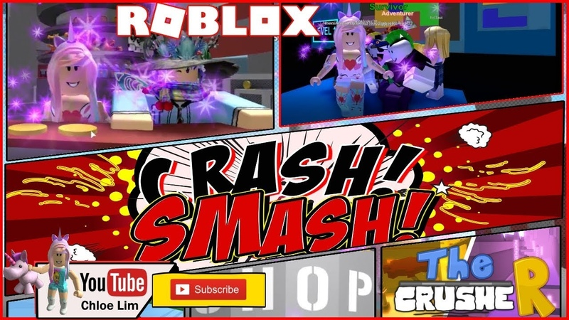 Roblox The CrusheR Gameplay! Loving the New Revolving Lobby! Loud Warning!