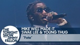 Mike WiLL Made It &amp Swae Lee, Young Thug - Fate (Live Perfomance In