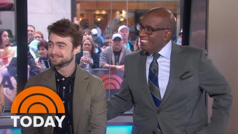 Broadway Star Daniel Radcliffe Offers Tips To Al Roker | TODAY