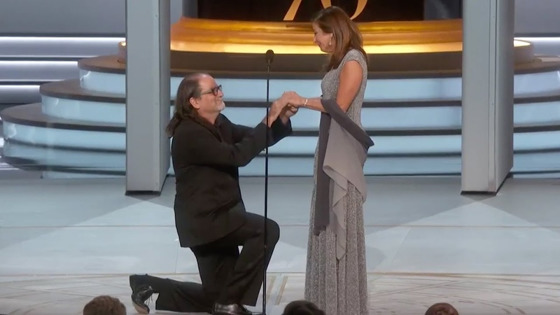 Glen Weiss Proposes To His Girlfriend After Winning The Emmy For Producing The Oscars