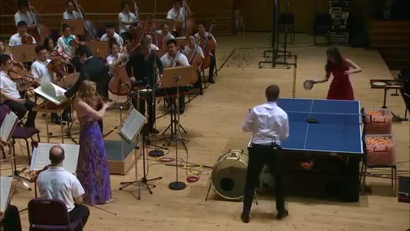 Рикошет • Концерт для пинг-понга, скрипки, ударных и оркестра