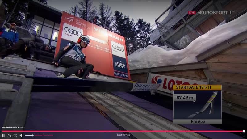 Прыжки на лыжах с трамплина. Кубок мира. Закопане. Мужчины. HS 134