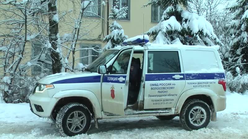 Грабёж с применением насилия в Волосовском районе