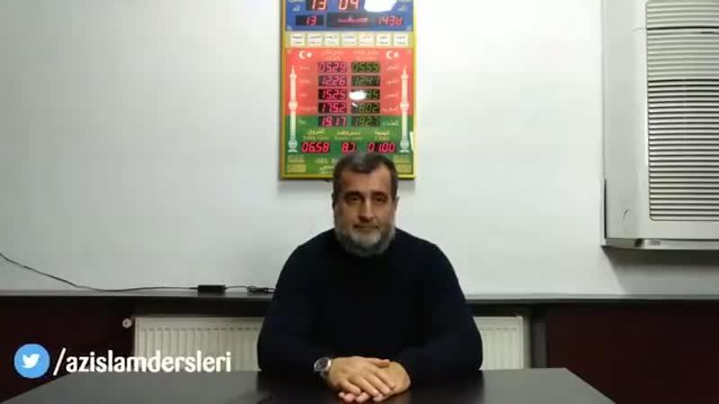 Suallara cavab 22.10.2018 - Şeyx Qamət Suleymanov (Allah onu qorusun)