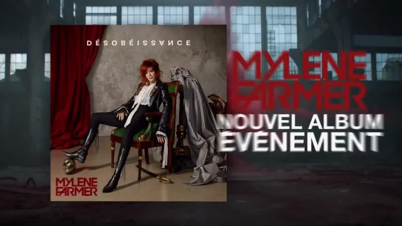 Mylène Farmer - Les premières images du clip Désobéissance