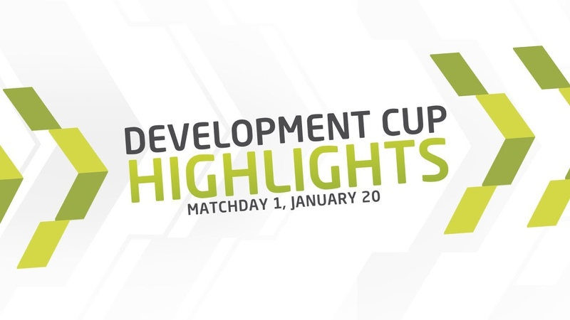 Development Cup - 2019. Highlights. Matchday 1