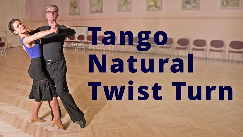 Tango Natural Twist Turn Intermediate Dance Routine