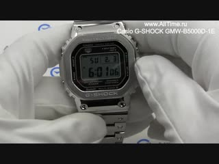 Обзор японских умных наручных часов casio g-shock gmw-b5000d-1e с хронографом