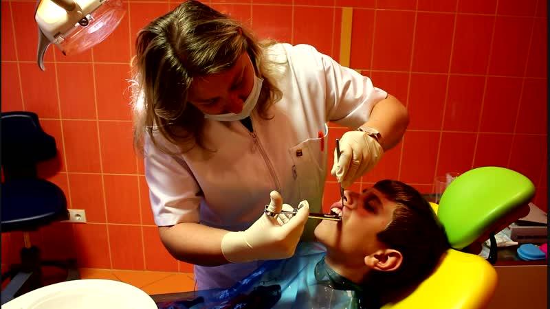 Удаление зуба под местной анестезией
