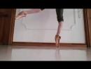 Flexible Ballet Feet Stretching Practice Гибкая практика растяжки балетных стоп