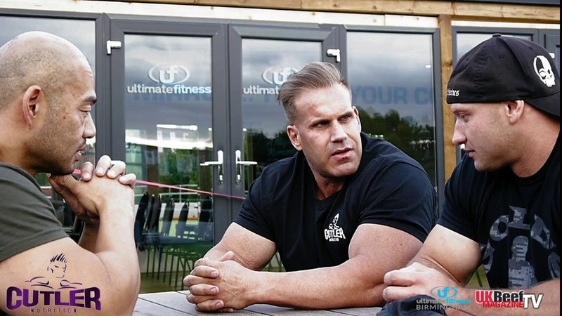 JAY CUTLER INTERVIEW WITH DEAN LESIAK AND SIMON FAN!