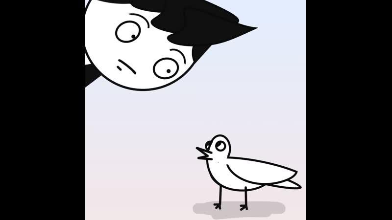 Глупый голубь