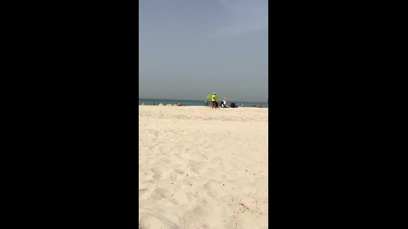 Шарджа. пляж.