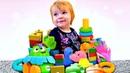 Coleção. Bianca e DaDa brinquedos. As cores e números para crianças.