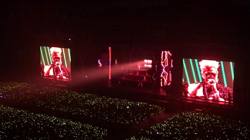 170108 - T.O.P Solo doom dada - BIGBANG 10 0 to 10 Final in Seoul - fan cam