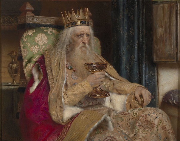 """""""Фульский король"""" (художник Пьер Жан ван дер Аудер, 1896 г.)"""