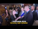 Як російська журналістка брала інтервю в української делегації ПАРЄ