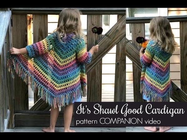 Its Shawl Good Cardigan Pattern COMPANION Video
