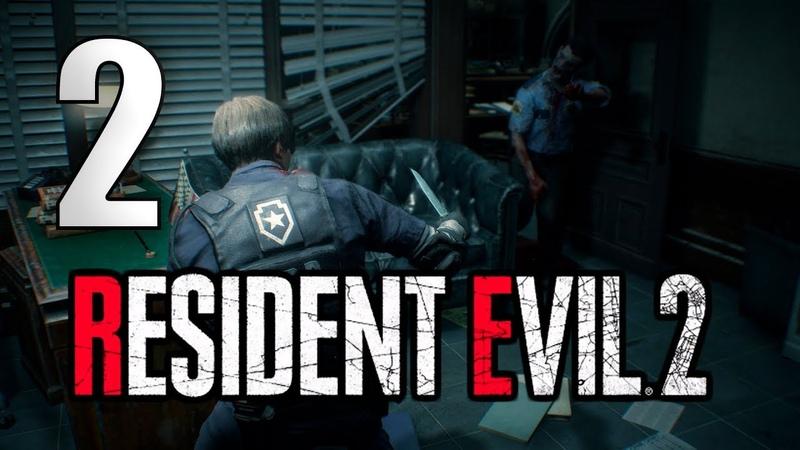 Слишком много зомби для одной комнаты!! ➤ Resident Evil 2 Remake [Leon] 2