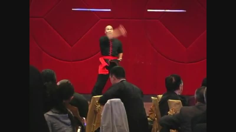 Sifu Yui Chow doing Hung Ga 5 Animals