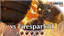 Vs Firespark81 Cavalcade of Calamity Build Around Red Aggro MTG Arena