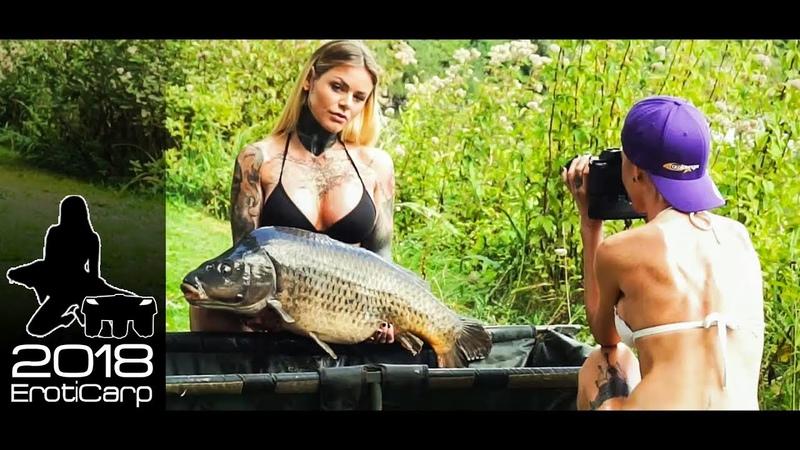ErotiCarp Kalender 2018 - carp fishing calender -making of- eroticarp.com by carplounge RT4 Baitboat