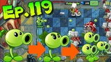 Plants vs. Zombies 2 (China) - All by Oneself One plant VS Zombies - Far Future Day 5 (Ep.119)