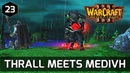 Warcraft 3 Story ► Medivh Tells Thrall to Lead the Orcs to Kalimdor - Orc Campaign