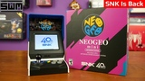 SNK Neo Geo Mini Unboxing And Impressions! SNK Is Back