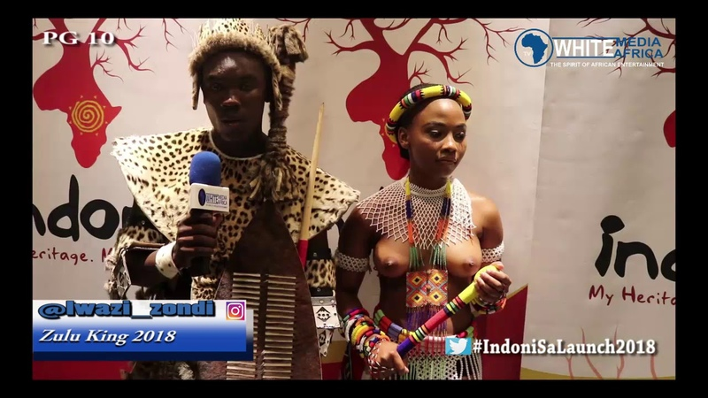 Zulu King 2018 live. Indoni Miss Cultural SA that was Indoni launch 2018