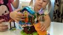 Собираем Lego friends Домик на дереве