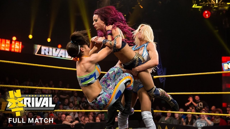 SB_Group| FULL MATCH Charlotte vs. Bayley vs. Banks vs. Lynch - NXT Fatal 4-Way Match NXT TakeOver Rival