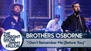 Brothers Osborne: I Don't Remember Me (Before You)