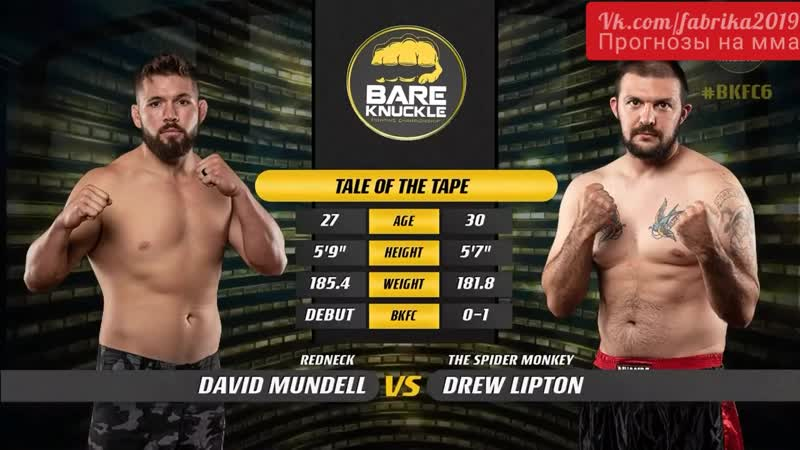 David Mundell vs Drew Lipton