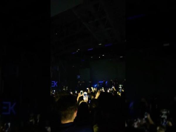 Егор Крид - Вступление перед Гуччи (Концерт в Пензе, 21 сентября 2018)