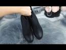 🔷 КОД 1297 Зимние ботиночки на тракторной подошве Евро зима Очень крутые и стильные Удобные Каблук 5 см высота ботинка 12 5
