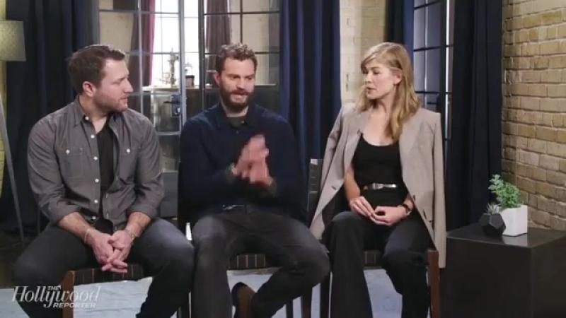 Интервью @mheineman с Джейми Дорнаном и Розамунд Пайк для издания The Hollywood Reporter. часть 3