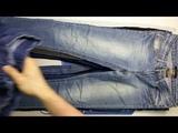 2684 Fashion Jeans Womens (15 kg) 1пак - модные женские джинсы крем+экстра Англия