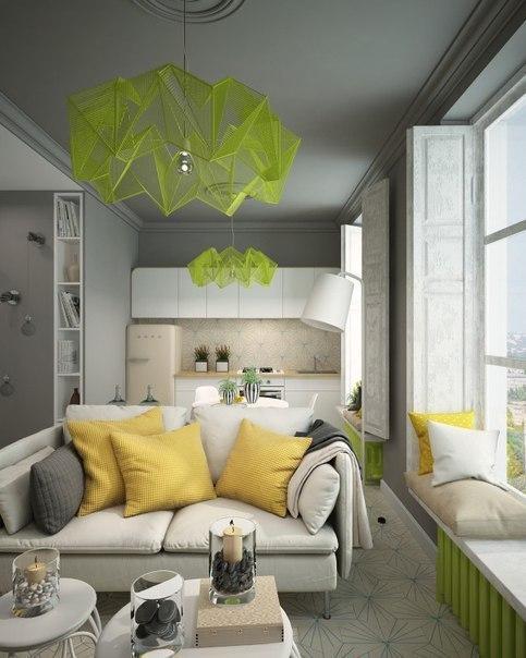 Проект интерьера для маленькой квартиры