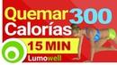 Quemar 300 Calorias en 15 Minutos en Casa Ejercicios Cardio para Perder Peso Rapido