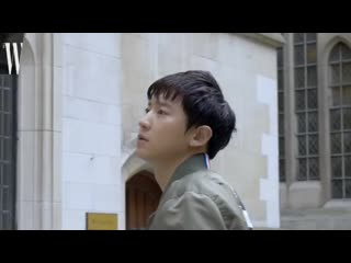 CHANYEOL for W Korea X Tommy Hilfiger