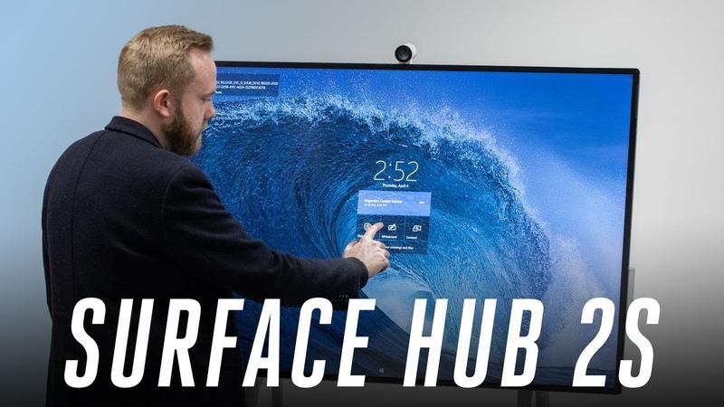 Microsoft Surface Hub 2 hands-on: a $9K PC on wheels