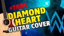 Alan Walker – Diamond Heart (fingerstyle guitar cover, tabs and karaoke)