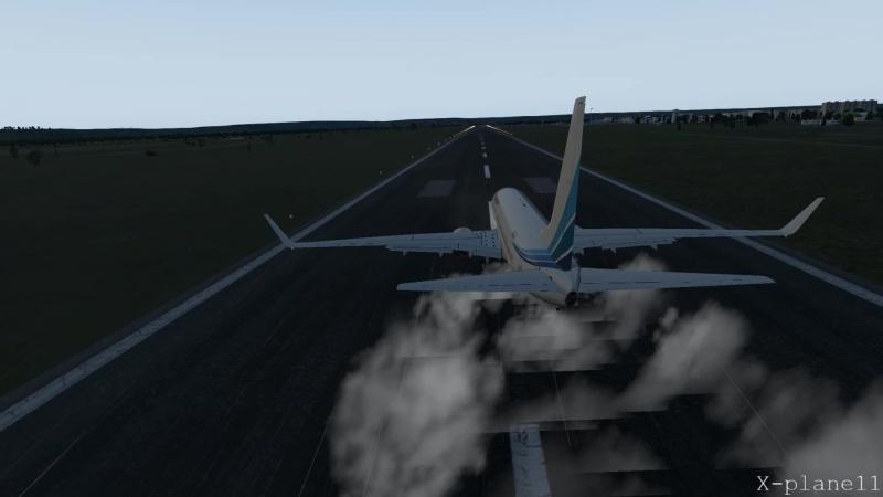 Xplane11 Boeing 737 800 ZIBOmod вылет из Благовещенска Игнатьево UHBB