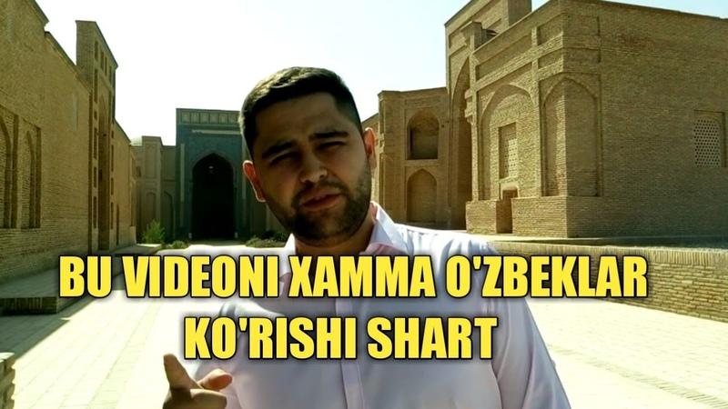 BU VIDEONI XAMMA O'ZBEKLAR KO'RISHI SHART