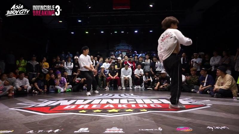 Madman vs Yu-ki | Final | Bboy 1on1 | Invincible Breaking Jam Vol.3
