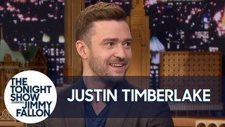 Justin Timberlake Has a Silent Interview with Jimmy Fallon