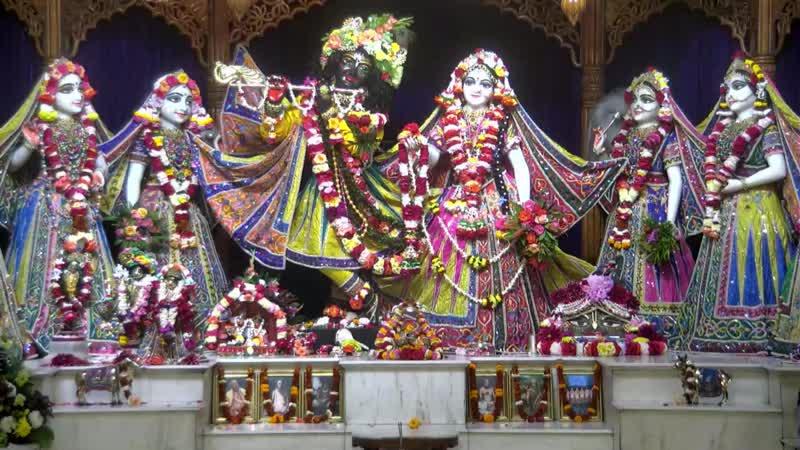 Darshan Arati of Sri Sri Radha Madhava - 02. 09, 2019